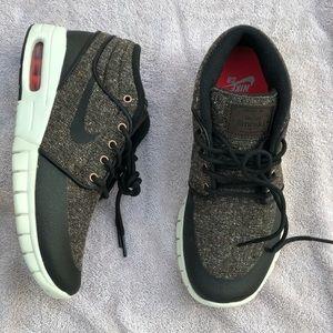 Nike Stefan Janoski Max Mid Shoes Baroque Brown